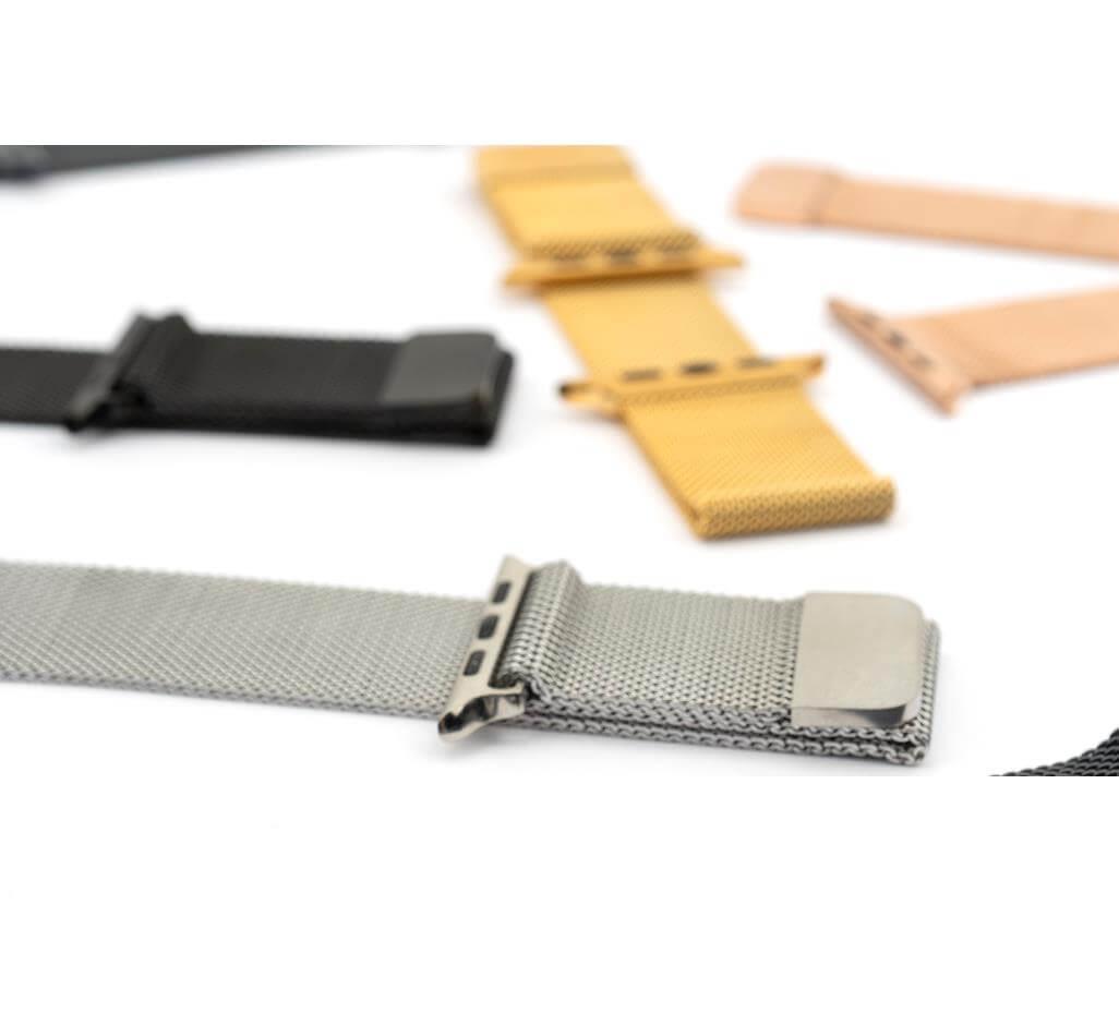 39502 4smarts metal milanese loop band stomanena neryjdaema kaishka za apple watch 42mm 44mm siv 922167661 - بند میلانس  اپل واچ 42/44mm