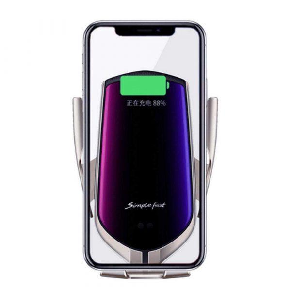 پایه نگهدارنده و شارژر بی سیم گوشی موبایل مدل R2