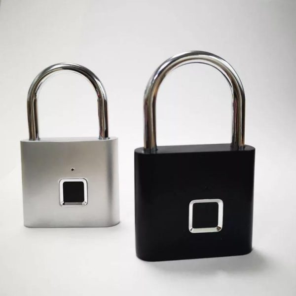قفل آویز هوشمند اثر انگشت دار