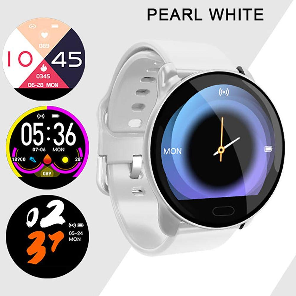 k9 full touch screen smart wristband blood pressure waterproof smartwatch men 8 - ساعت هوشمند k9