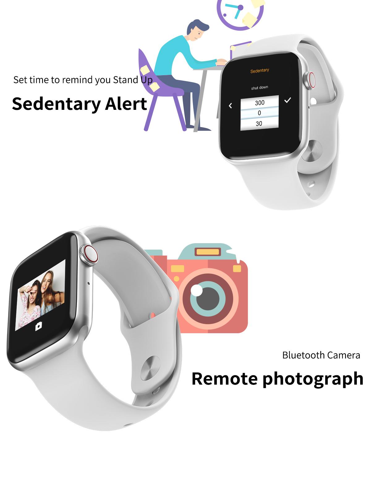 ساعت هوشمند مدل w35