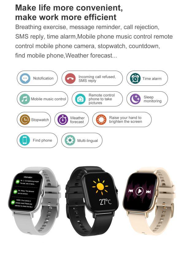ساعت هوشمند مدل DT94